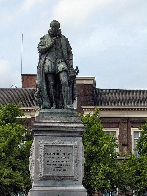 Willem van Oranje.Den Haag