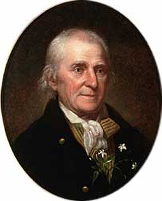 Rabun County, Georgia - Portrait of William Bartram by Peale