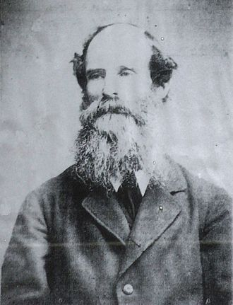 William White (architect) - White, in about 1900