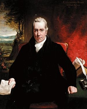 William Adam of Blair Adam - Portrait by Sir Henry Raeburn
