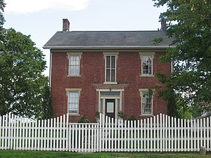 National Register of Historic Places listings in Miami County, Ohio - Image: William Baumgardner House