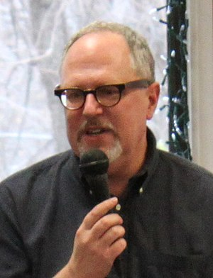 William Joyce (writer) - Joyce promoting The Man in the Moon in November 2011