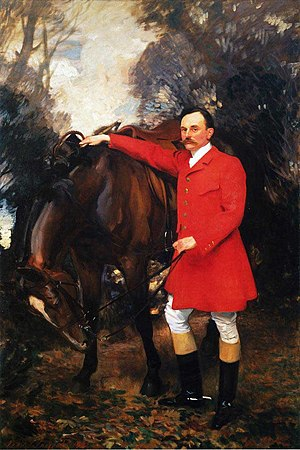 Peter Cazalet (racehorse trainer) - William Marshall Cazalet, John Singer Sargent, 1902