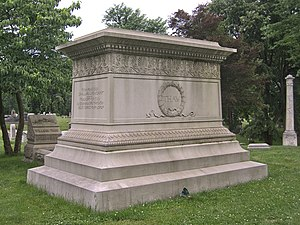 William Thaw Sr. - William Thaw monument in Allegheny Cemetery, Pittsburgh.