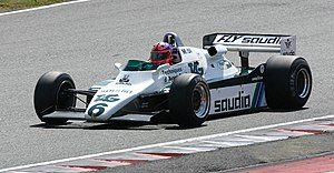 Williams FW08 - Image: Williams FW08 2008 Silverstone Classic
