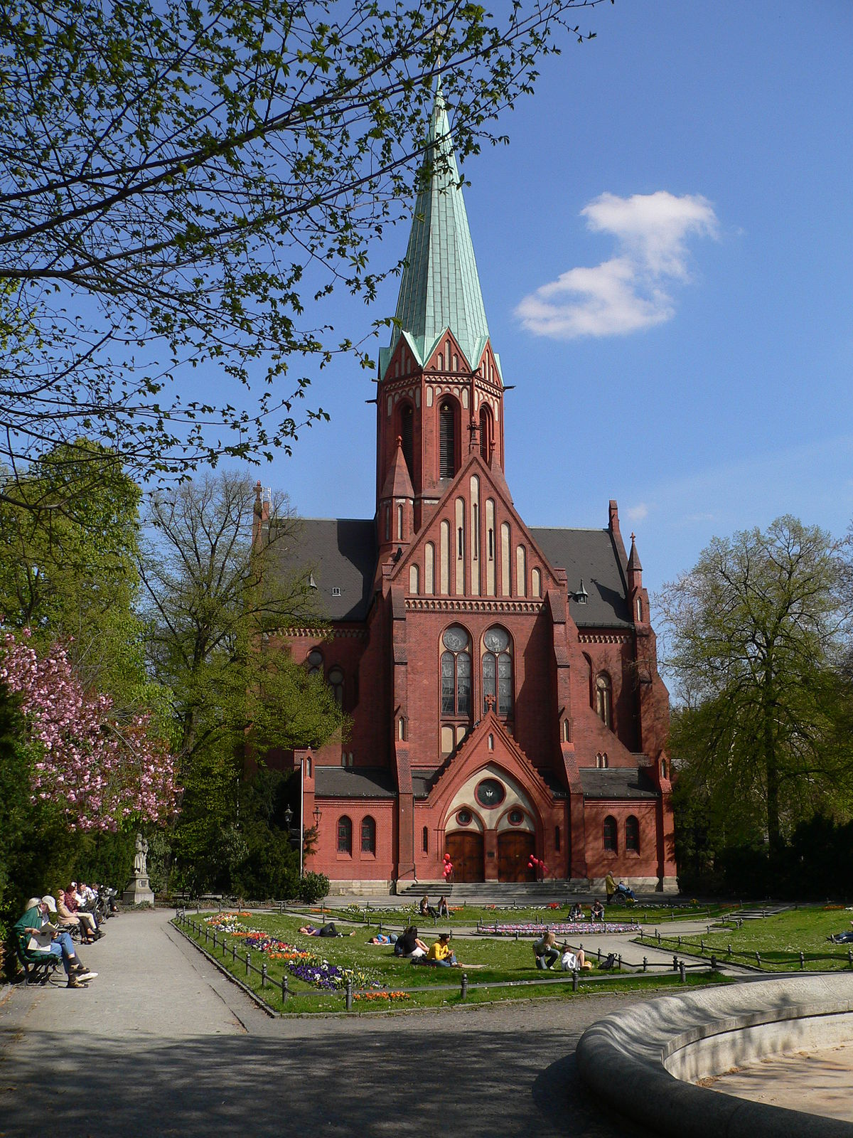 Sint lodewijkskerk berlijn wikipedia for Interieur 51 berlin