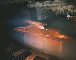 Similitude (model) - A full scale X-43 Wind tunnel test.  The test is designed to have dynamic similitude with the real application to ensure valid results.