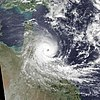 Winifred making landfall in Queensland
