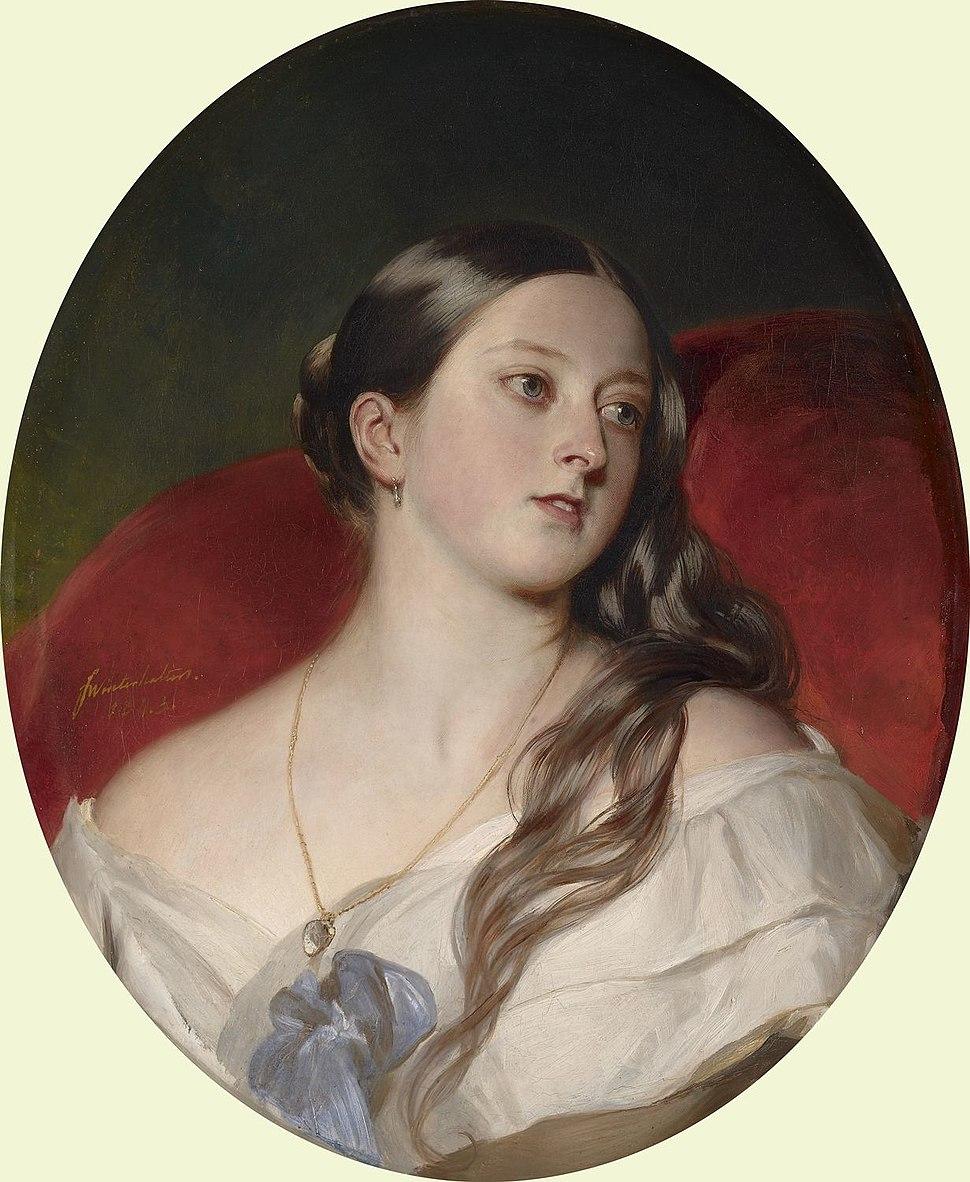 Winterhalter - Queen Victoria 1843