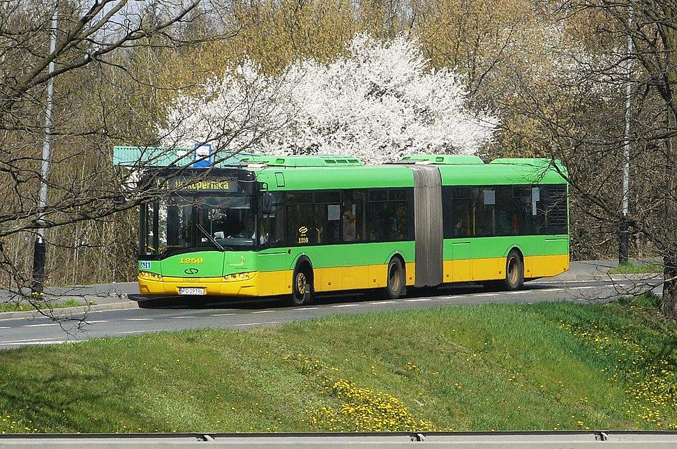 Witosa Wiadukt bus stop in Poznan