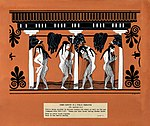 Women bathing in a public gymnasium. Gouache painting. Wellcome V0020000.jpg