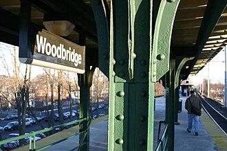 Woodbridge station (NJ Transit) - Image: Woodbridge station 02