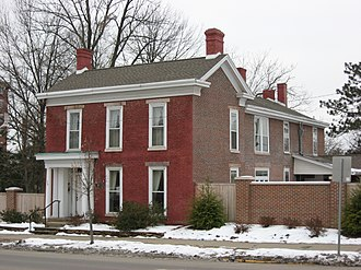 Herman B Wells - Woodburn House in Bloomington, where Wells lived early in his IU presidency.