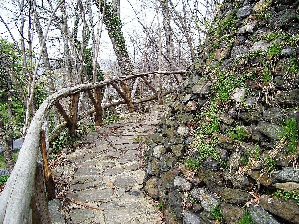 Woodland path Wave Hill 3