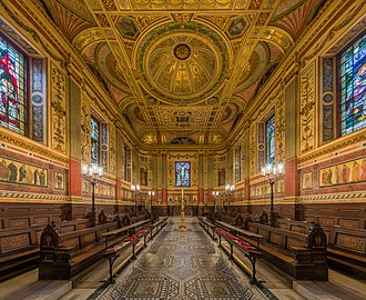 Worcester College, Oxford - The interior of The Chapel