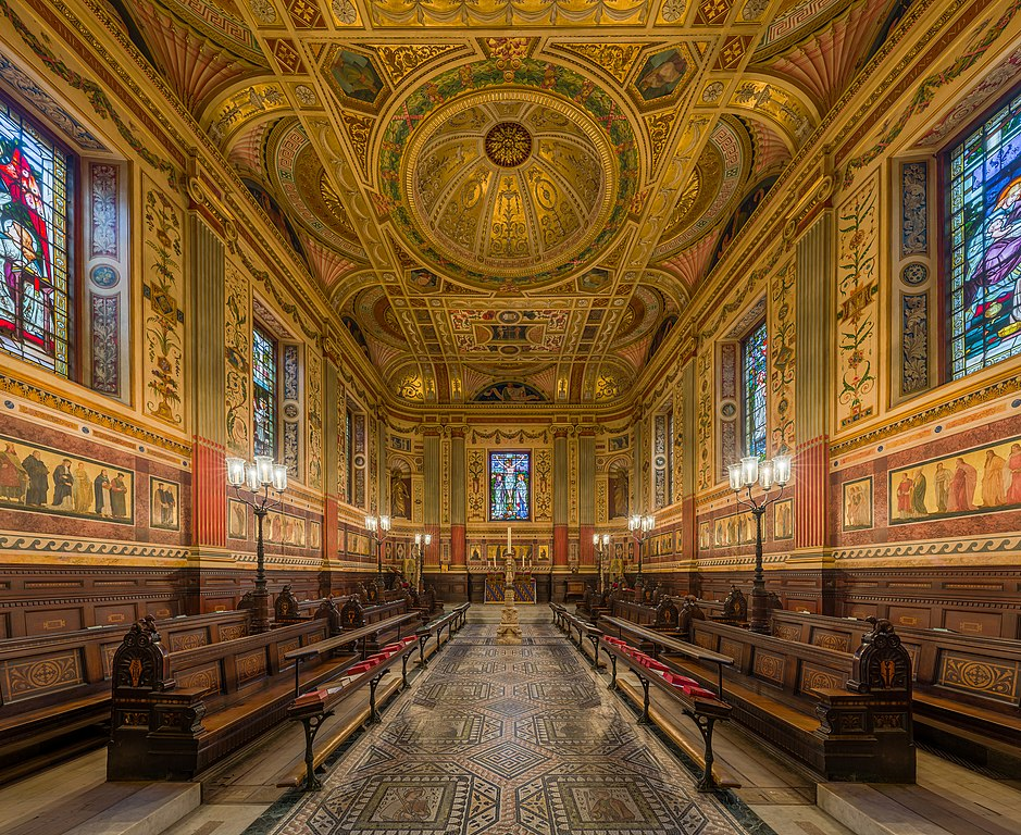 Chapelle du Worcester College à Oxford, Angleterre. Photo by DAVID ILIFF. License: CC-BY-SA 3.0