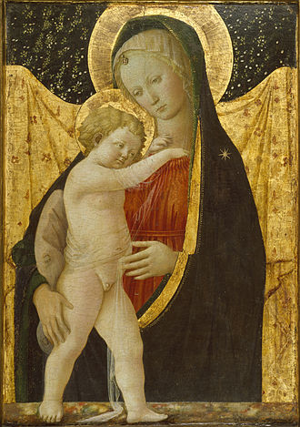 Our Lady, Star of the Sea - Image: Workshop of Filippo Lippi Madonna and Child Walters 37429