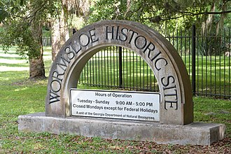Wormsloe Historic Site - Image: Wormsloe Historic Site, Chatham County, GA, US (36)