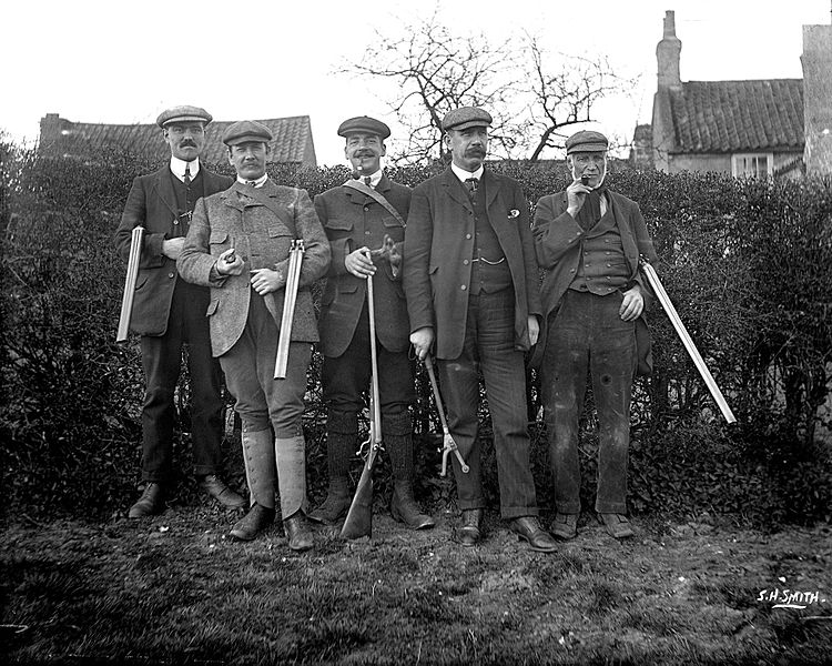 File:Wright and his brothers with shooting party (cf. K9) YORYM-S496.jpg
