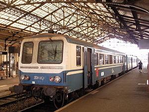 Autorail X 2104 à Brive-la-Gaillarde