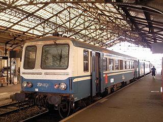 railway station in Brive-la-Gaillarde, France