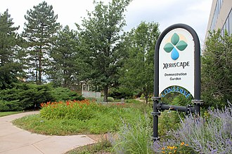 Xeriscaping - The Xeriscape Demonstration Garden at the headquarters of Denver Water in Denver, Colorado.