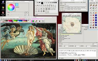 XPaint - Image: Xpaint 2.9.1 screenshot
