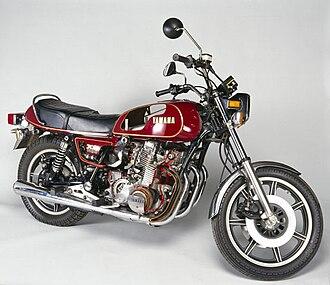 Yamaha XS Eleven - Image: Yamaha XS1100 Motor Cycle Sectioned
