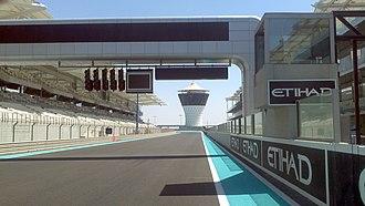 Abu Dhabi Grand Prix - Image: Yas Marina 2