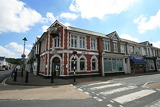 Ystradgynlais town in Powys, Wales
