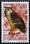 Yugoslavian stamp with Bubo bubo 1972.jpg