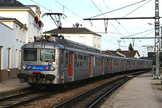 SNCF Class Z 5300 - A refurbished Z 5300 train in September 2006