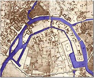 Vodootvodny Canal - 1775 Canal project by Matvey Kazakov