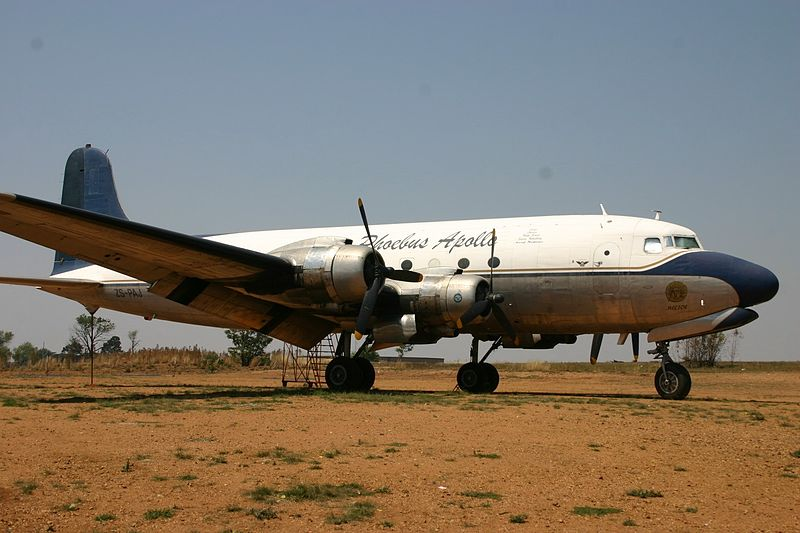 File:ZS-PAJ Douglas DC-4 Phoebus Apollo (7684916692).jpg