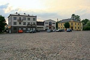 Žemaičių Naumiestis - Žemaičių Naumiestis market square