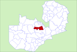 Zambia Mpongwe District.png