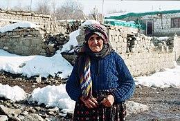 Gammal zazaisk kvinna från Dersim (2008)