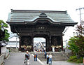 Zenkoji Temple Niomon June 27 2007.jpg