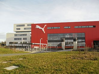 Puma (brand) - PUMA headquarters in Herzogenaurach, Germany