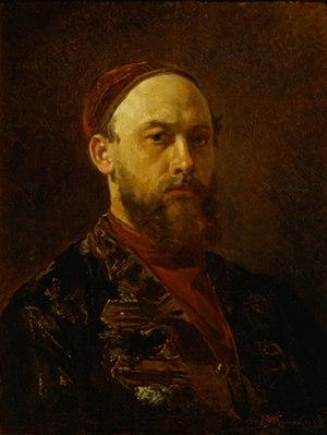 Firs Zhuravlev - Self-portrait (date unknown)