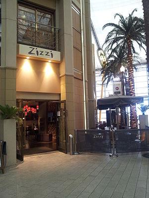Zizzi - Zizzi restaurant in the 02, London