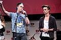 Zoe Sugg, Caspar Lee & Joe Sugg (14358871829) (cropped).jpg