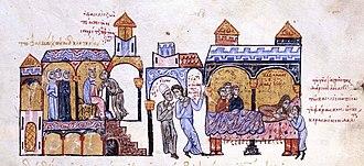 John the Orphanotrophos - Zoe asks Sgouritzes to poison John the Orphanotrophos