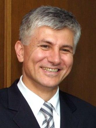 Democratic Party (Serbia) - Image: Zoran Djindjic Cropped