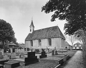 Adorp - Protestant Church in 1976