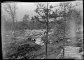 """""""Foundation of the community center building at Norris townsite."""" - NARA - 532807.tif"""