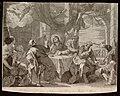 """""""La cena de Emaús"""" o """"Los discípulos de Emaús"""", cuadro de Mateo Cerezo (1666) grabado por José del Castillo (1778).jpg"""
