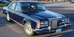 Lincoln Versailles z 1978