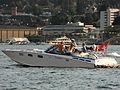 'Zu schnell gefahren' - Seepolizei Zürichsee - ZSG-Werft Wollishofen - Zürichsee - Hafen Riesbach 2012-08-09 19-42-48.JPG