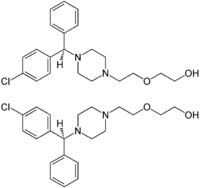 (±)-Hydroxyzine Structural Formulae.png
